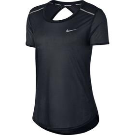 Nike Breathe Open Back T-Shirt Femme, black
